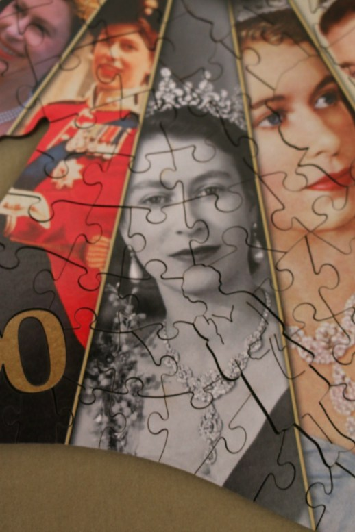 Queen Elizabeth II 90th Birthday Souvenir puzzle