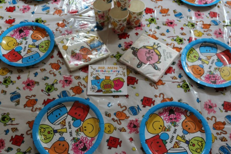 Mr Men Birthday Party Over 40 And A Mum To One