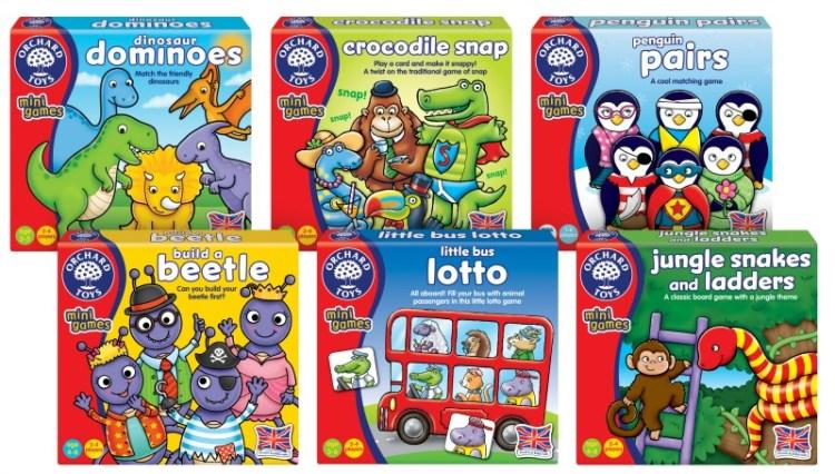 Orchard Toys Mini Games