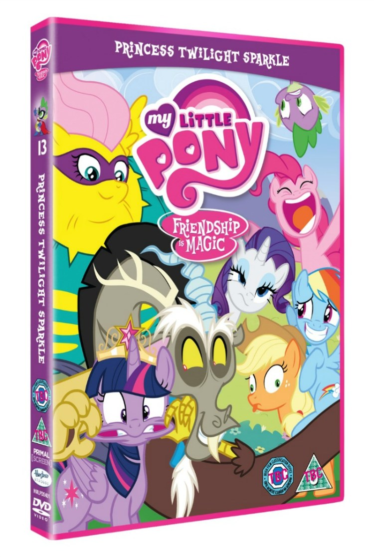 My Little Pony: Princess Twilight Sparkle DVD