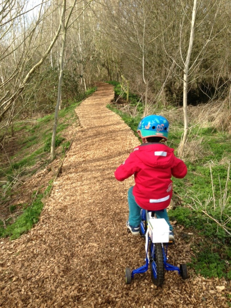 Pedaling to confidence