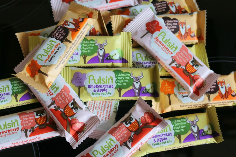 Pulsin Fruity Oaty Bars