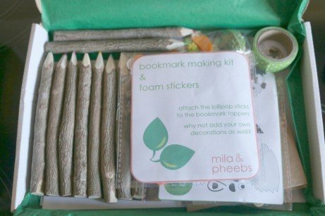 Mila & Pheebs Craft and Stationery box