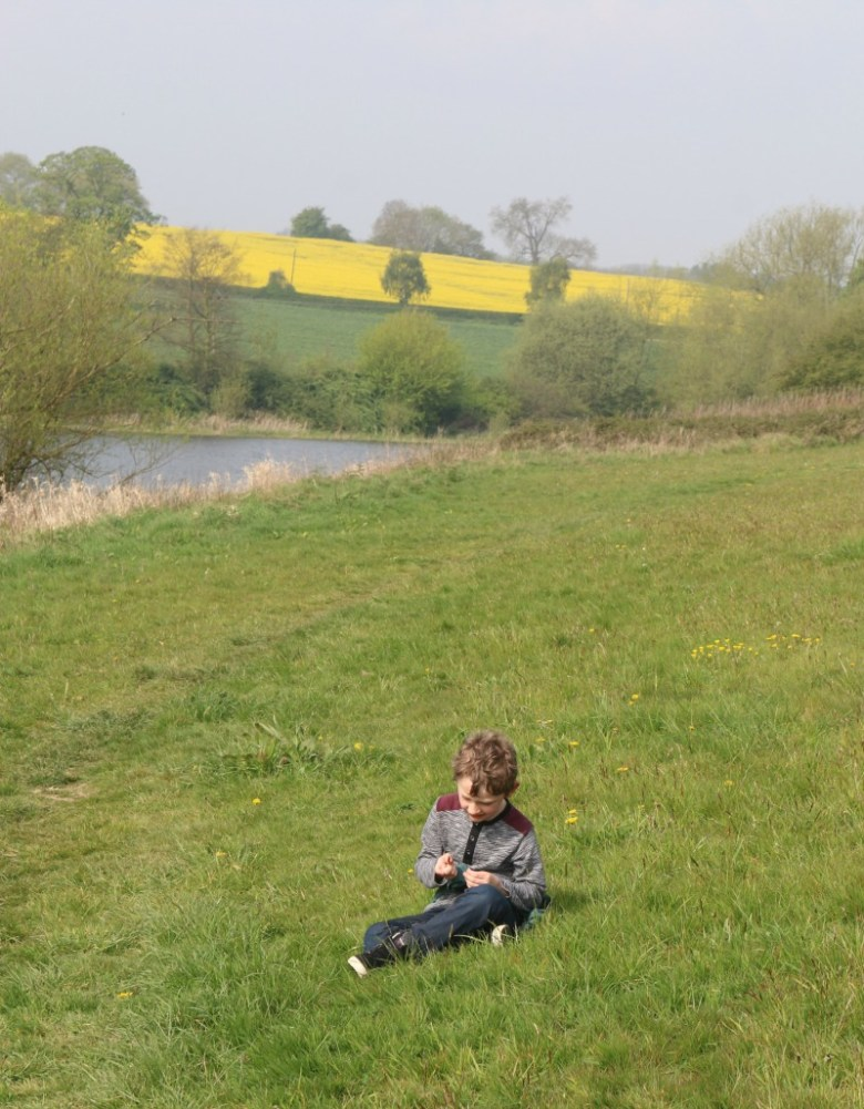 Walking around Staunton Harold Reservoir