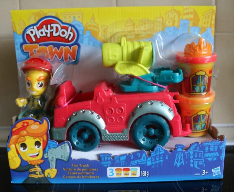 Play-Doh Town Fire Truck Playset
