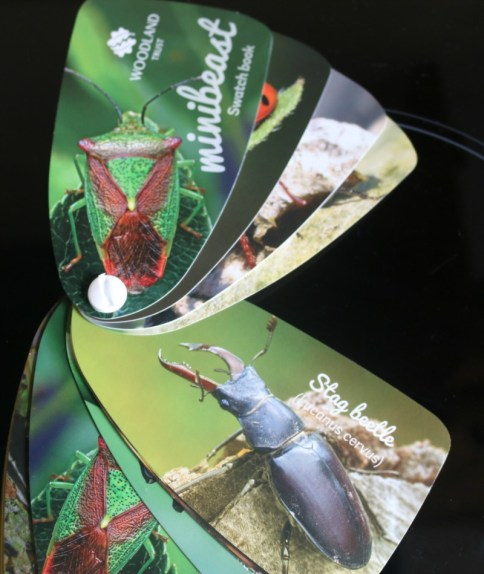 Woodland Trust Wildlife Swatch Books