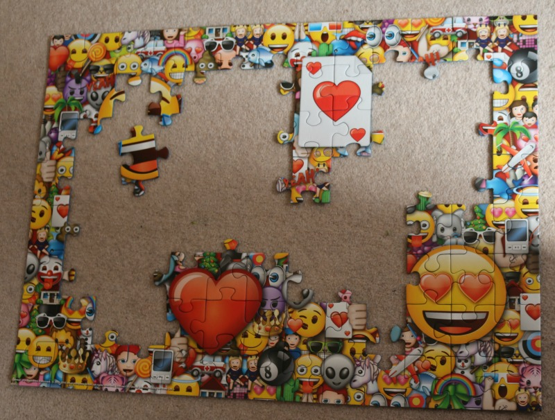 Emoji XXL 100 pc puzzle from Ravensburger