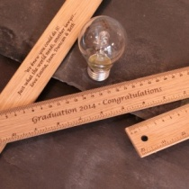 Personalised Graduation Gift Wooden Ruler a