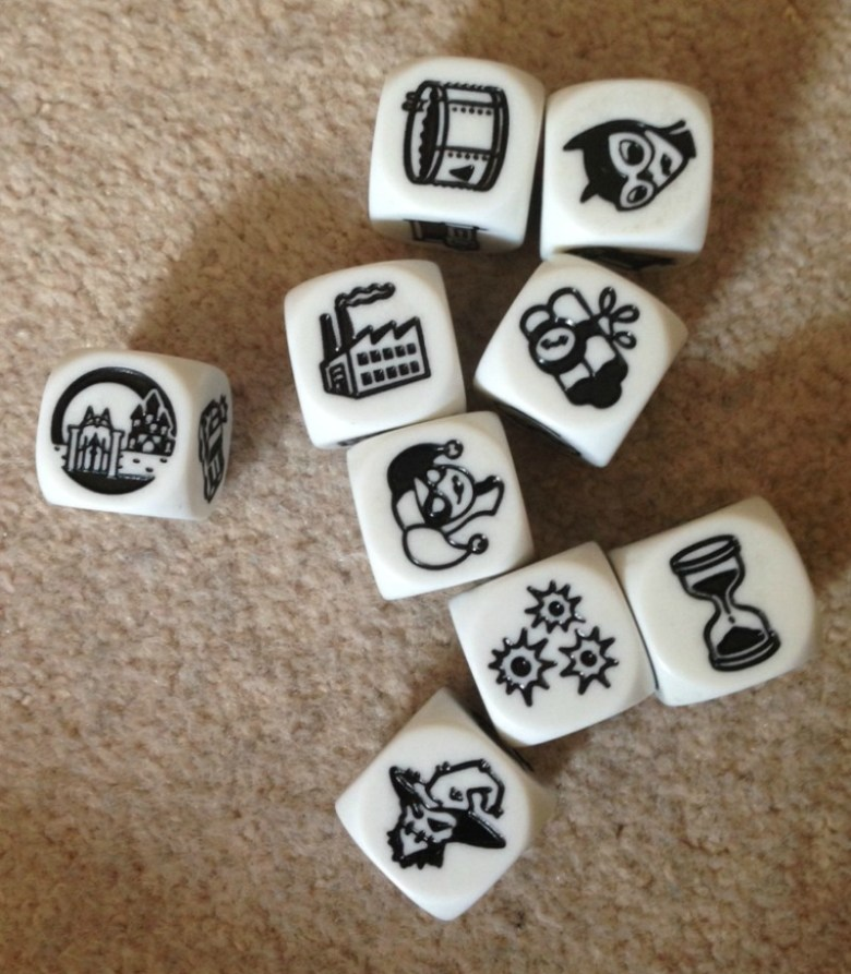 Rory's Story Cubes Batman Dice