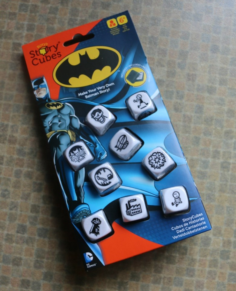 Rory's Story Cubes Batman Dice