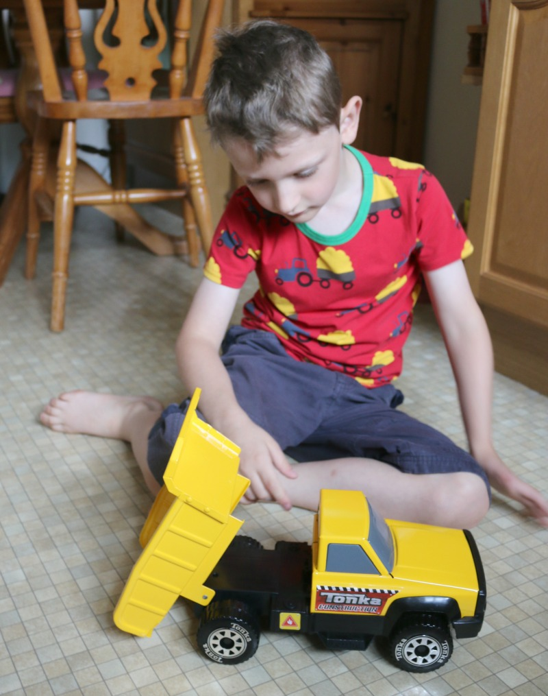 A first introduction to Tonka toys