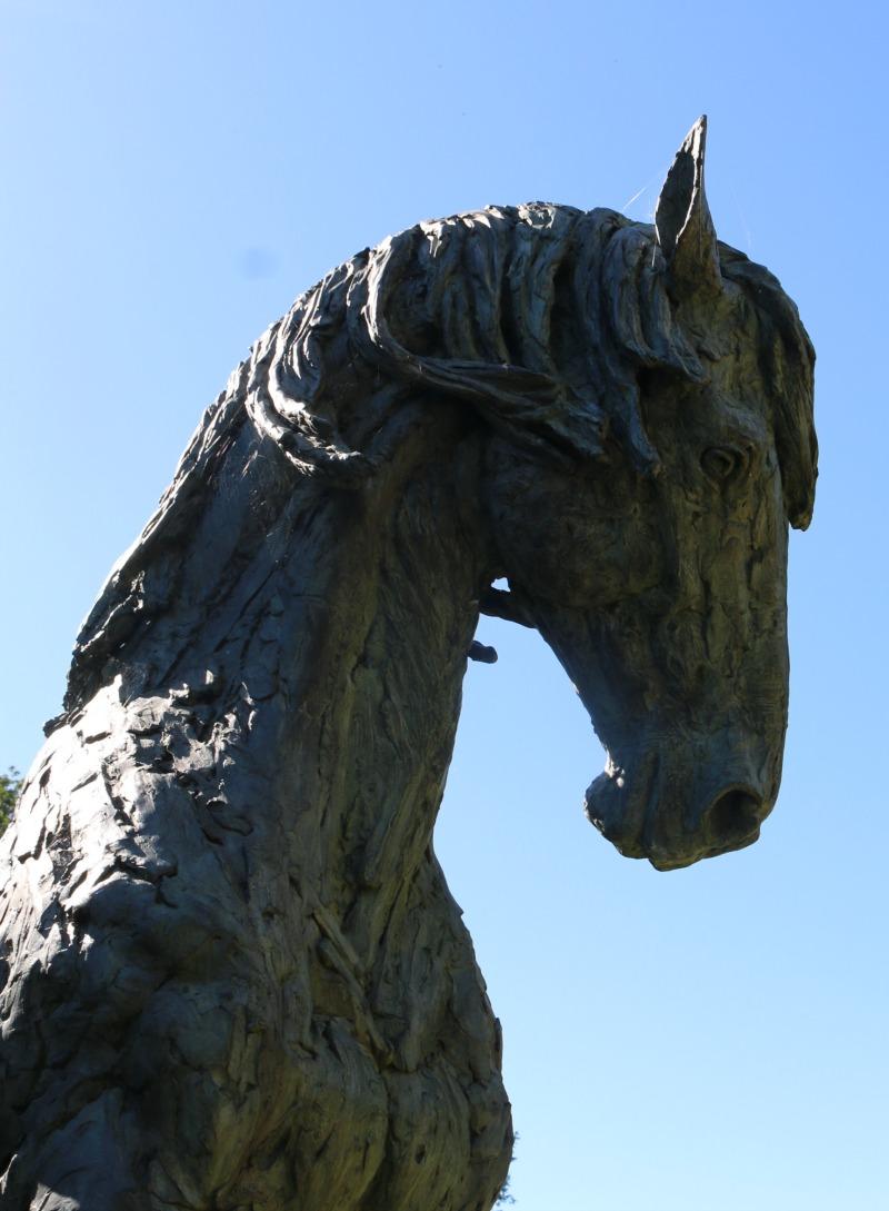 Horse in Bronze - Silent Sunday My Sunday Photo 280816