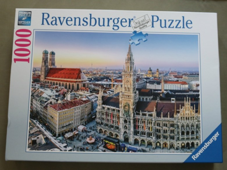 Munich 1000 Piece Puzzle from Ravensburger