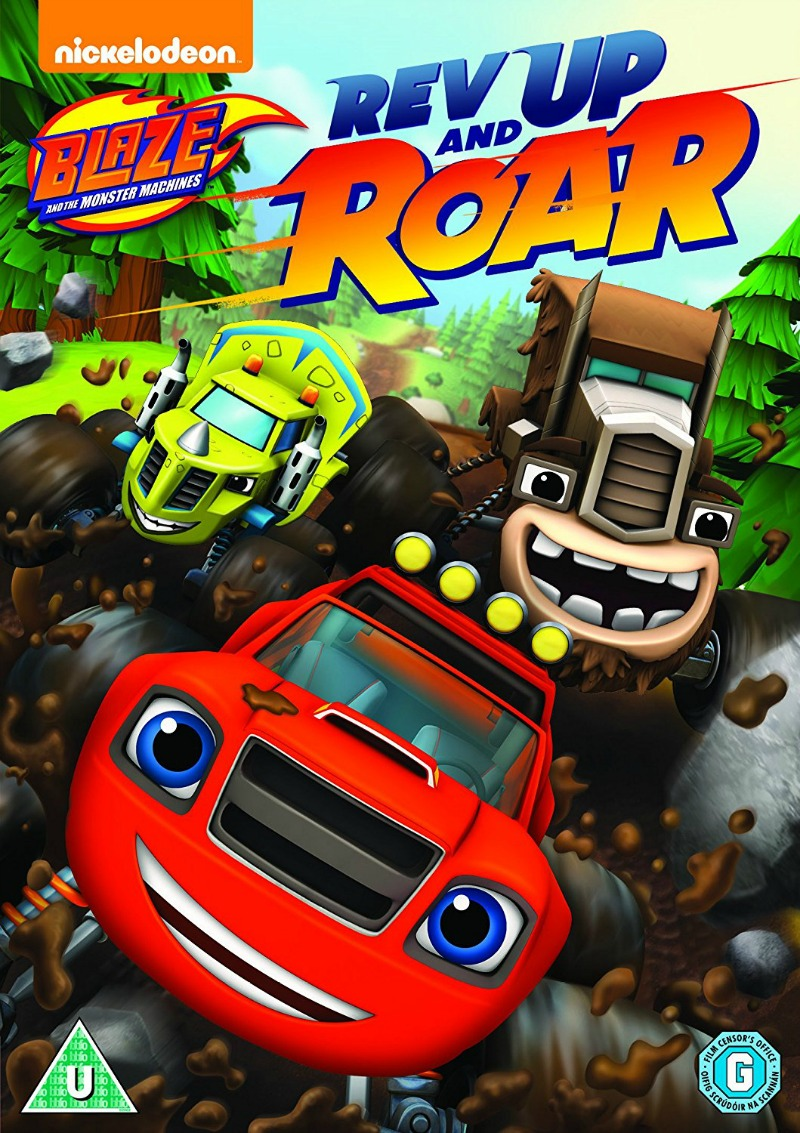 Blaze and the Monster Machines: Rev up and Roar! DVD giveaway