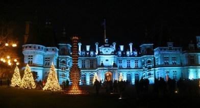 Feeling festive at Waddesdon Manor