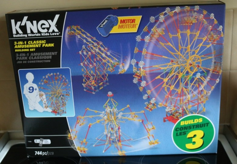 K'Nex 3 in 1 Classic Amusement Park Building Set 17035
