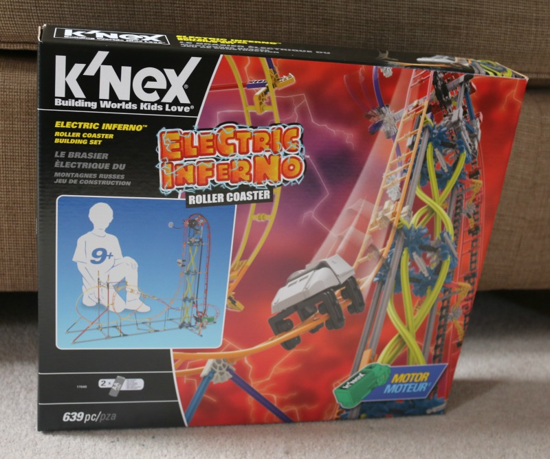K'Nex Electric Inferno Roller Coaster 17040