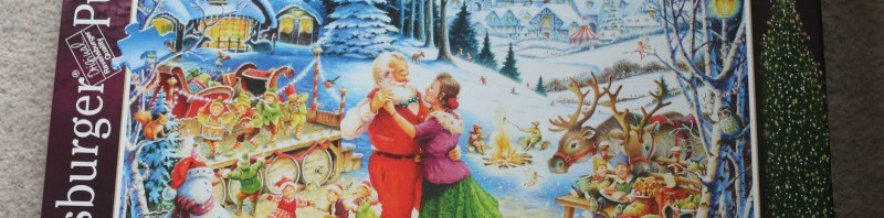 Ravensburger Santa's Christmas Party Limited Edition 1000 Piece puzzle