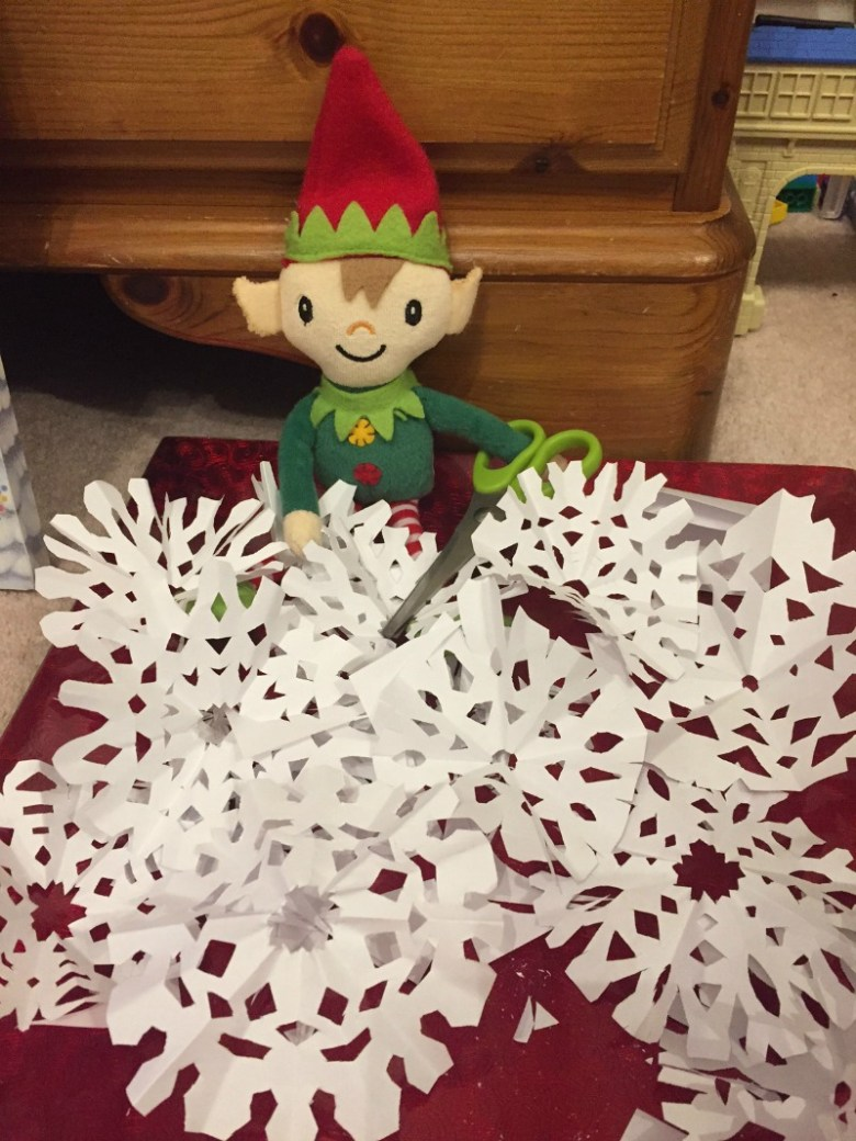 Berry the Elf in 2016 - week 1