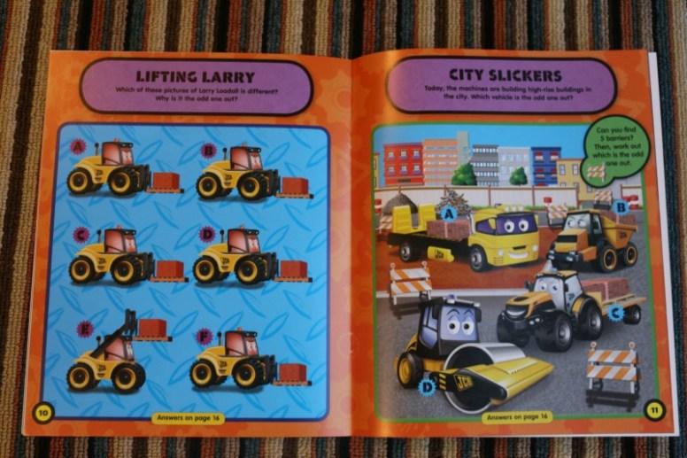 My 1st JCB Sticker and Activity Books