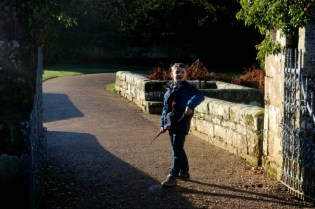 Exploring Scotney Castle