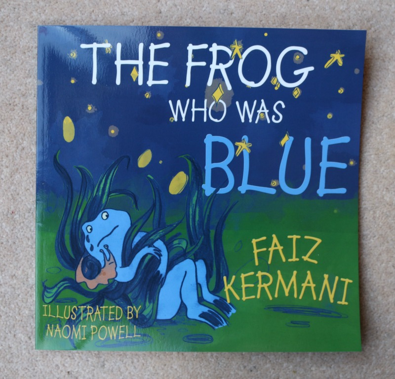 The Frog Who Was Blue