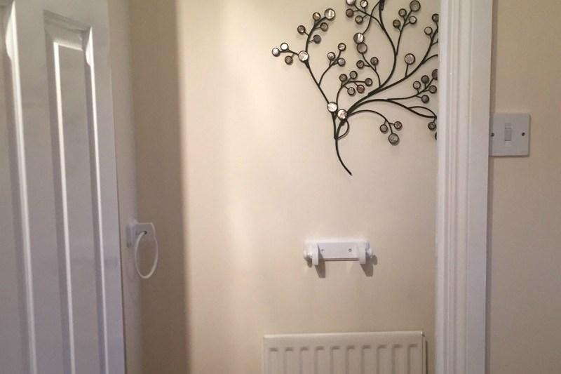 Glossing doors and painting walls