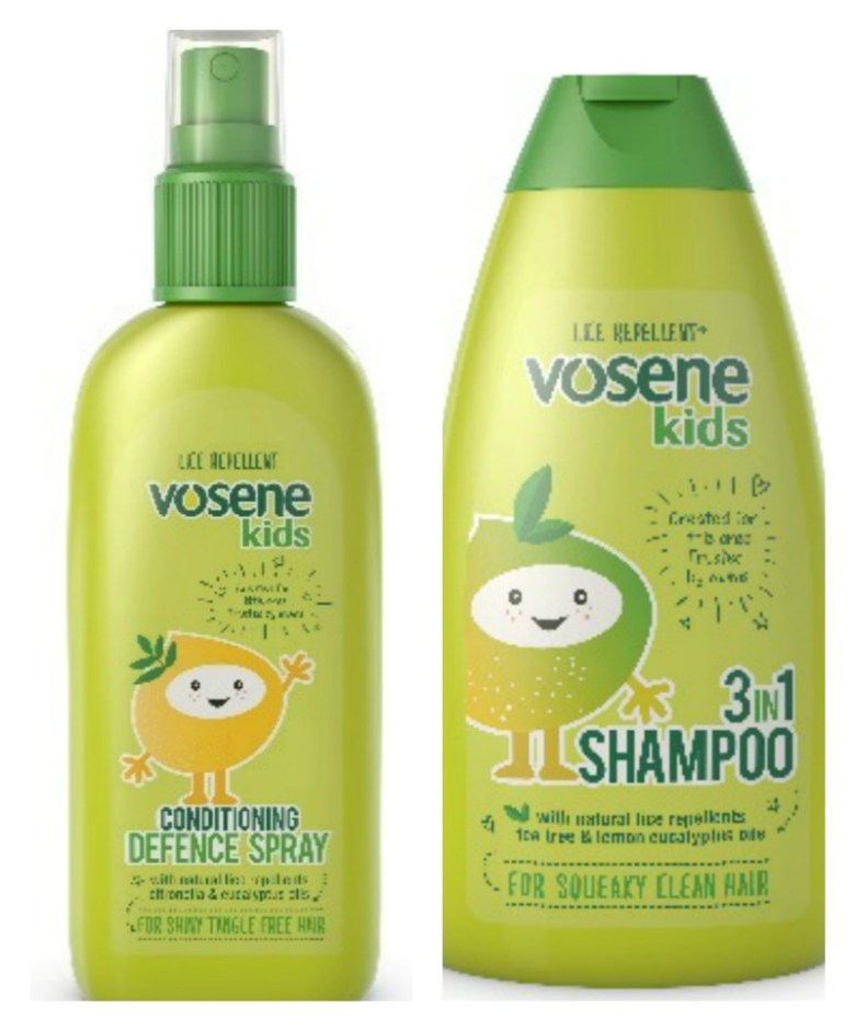 Vosene Kids Squeak Clean bundle giveaway