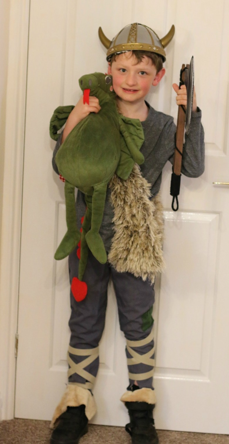 Dressing up as Hiccup Horrendous Haddock III