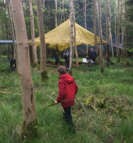 Bushcrafting with Cotswold Adventures