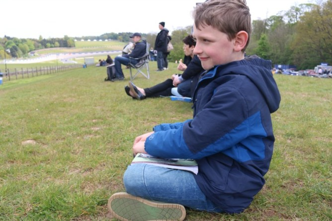 Enjoying the Donington Historic Festival