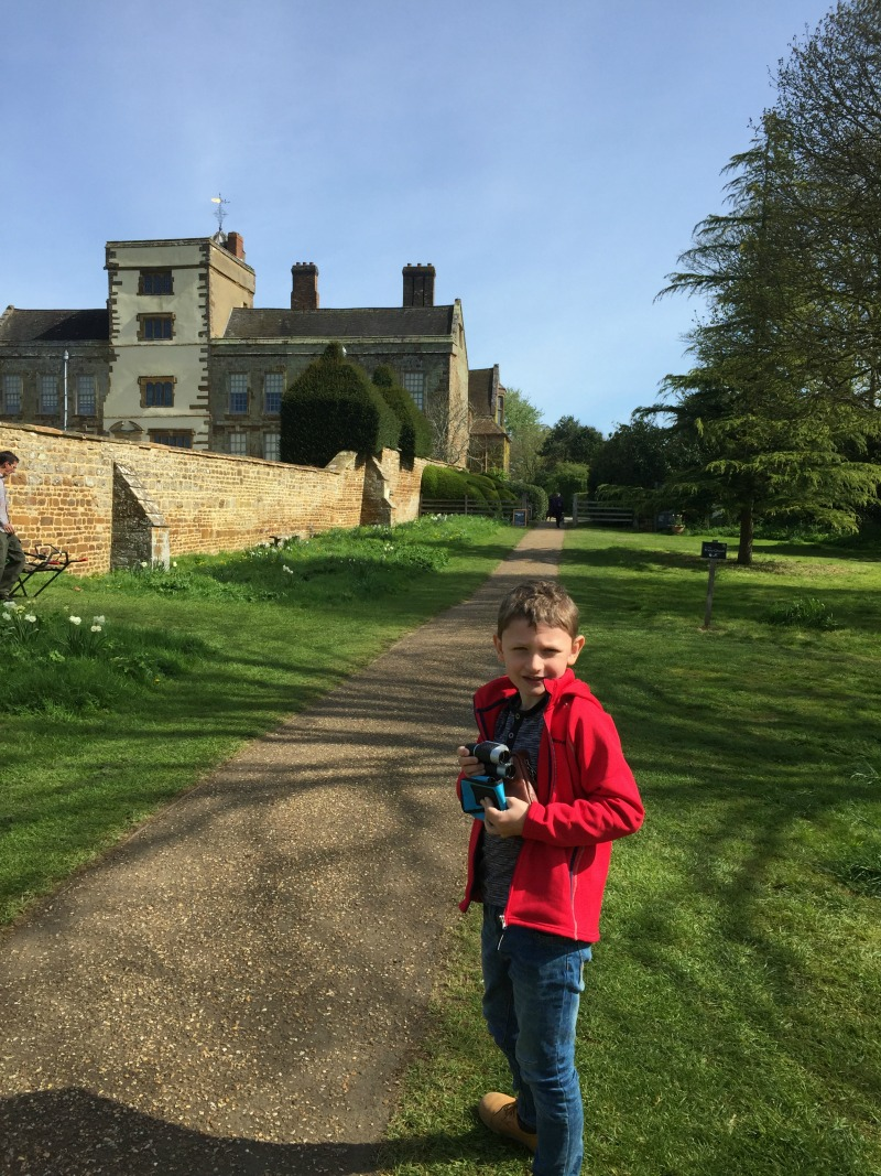 Having fun at Canons Ashby