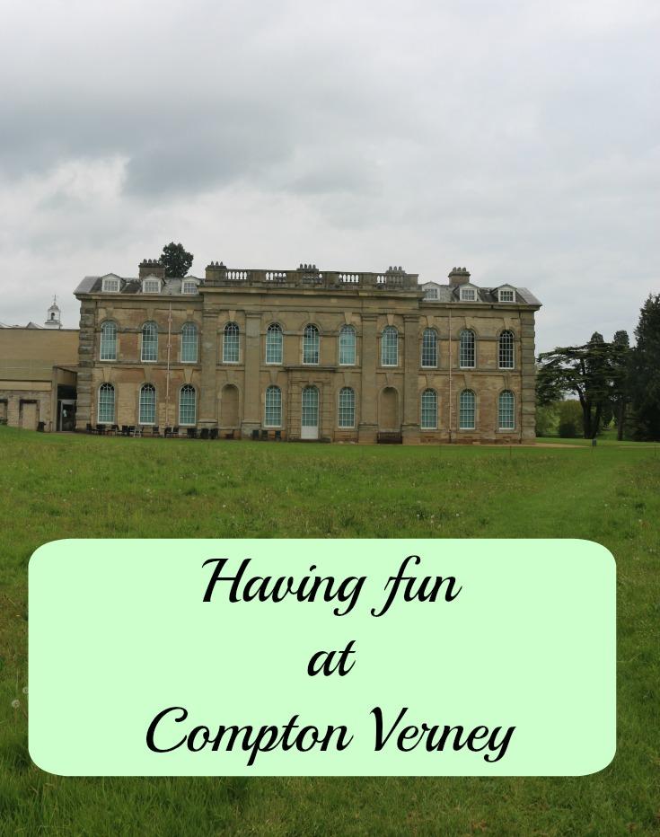 Having fun at Compton Verney