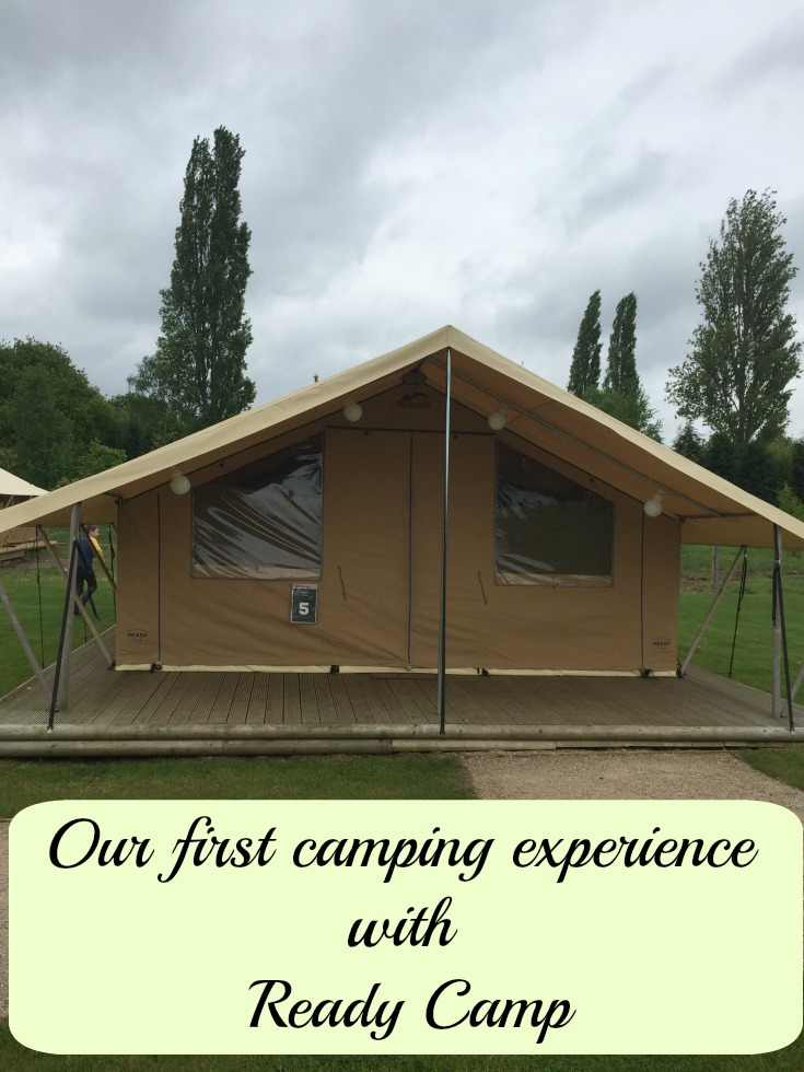 Our first camping experience with Ready Camp