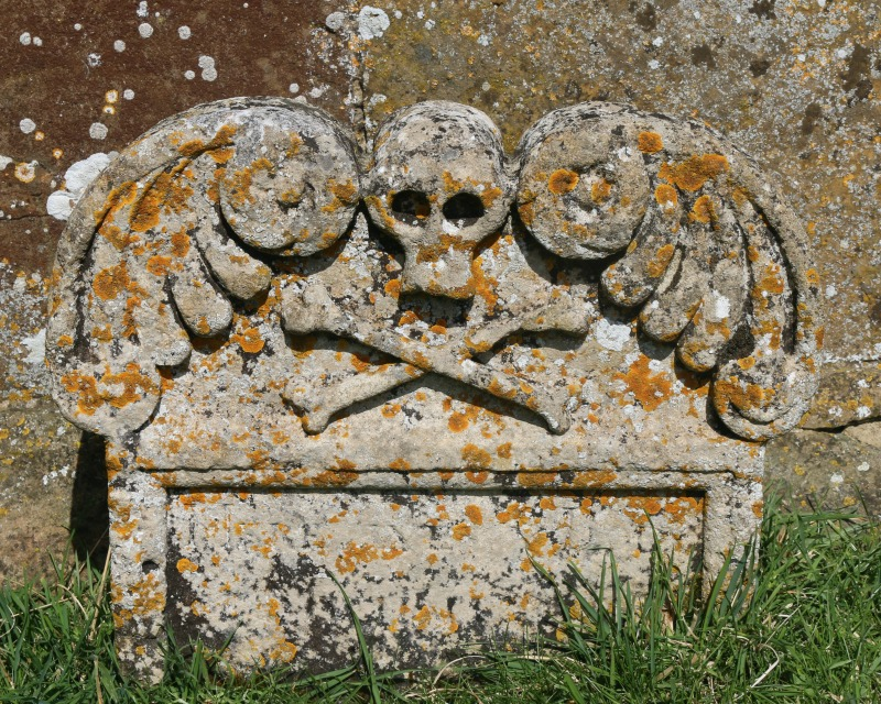 Pirate Tombstone - My Sunday Photo 210517
