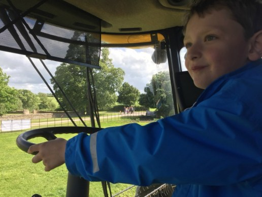 Conquering fears on Open Farm Sunday
