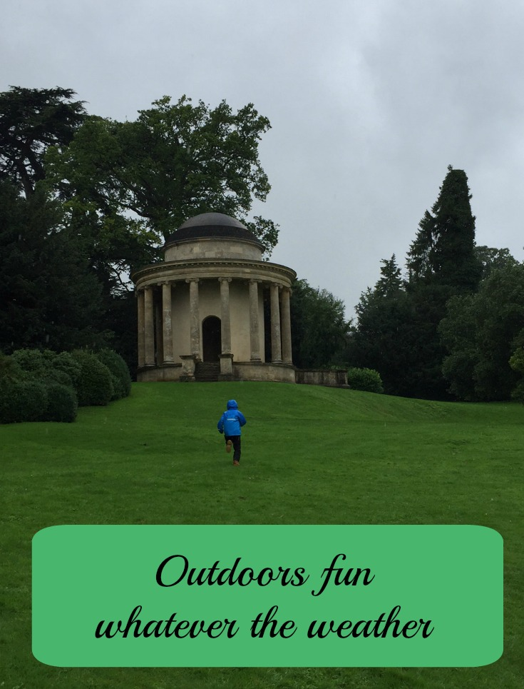 Outdoors fun whatever the weather
