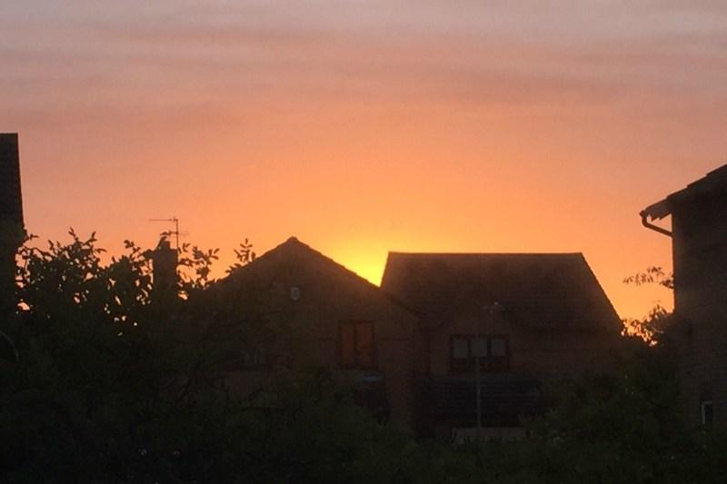 Summer sunset - My Sunday Photo 130817