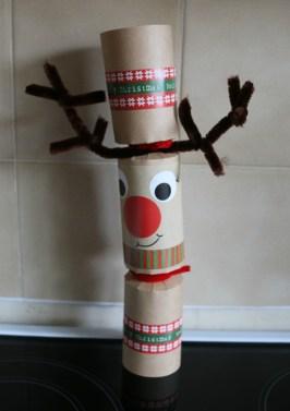 Kraft Jingle & Wobble Rudolph Christmas Cracker Making Kit