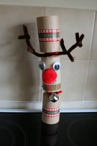 Kraft Jingle & Wobble Rudolph Christmas Cracker Making Kit
