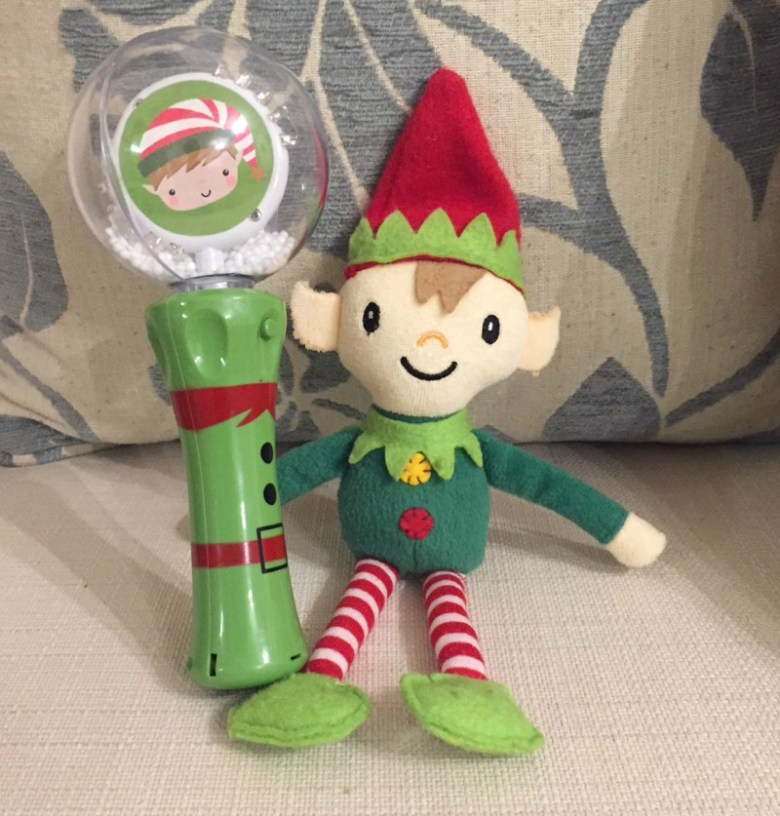Berry the Elf in 2017 - days 8-14