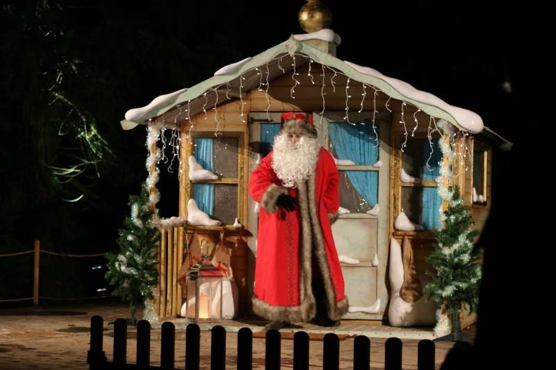 Enjoying Christmas at Blenheim