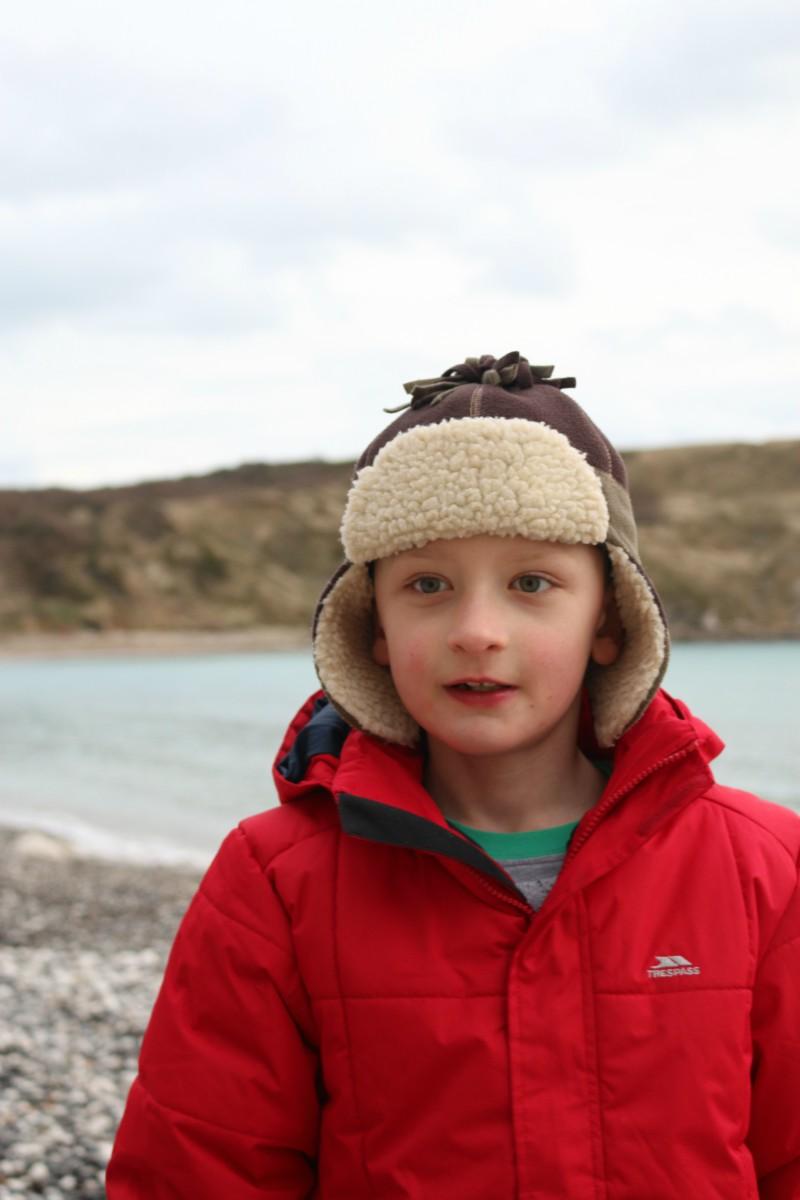 Enjoying the seaside in December