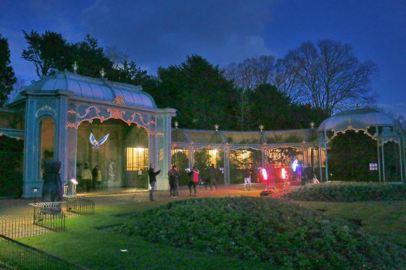 Enjoying Waddesdon Imaginarium on New Years Eve
