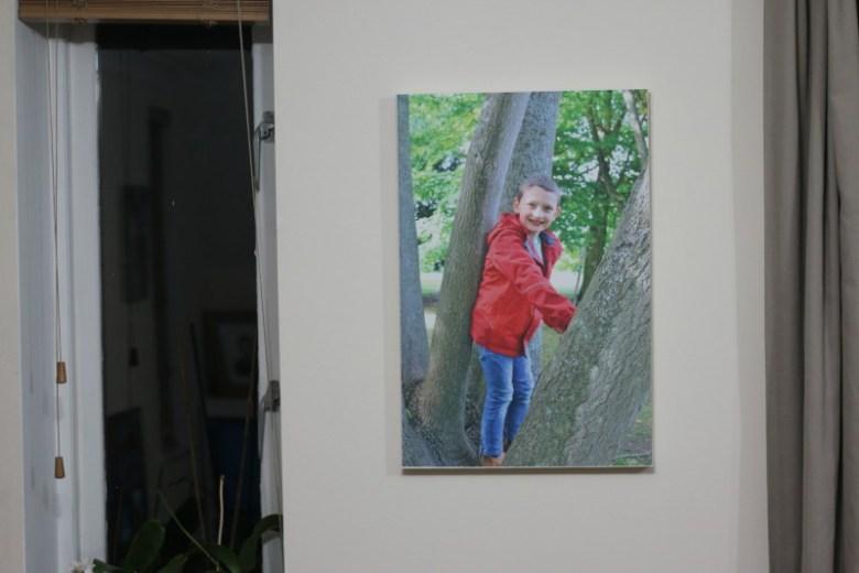 Framing memories with Photowall