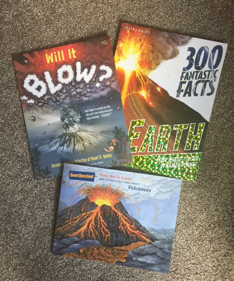 Volcano reference books