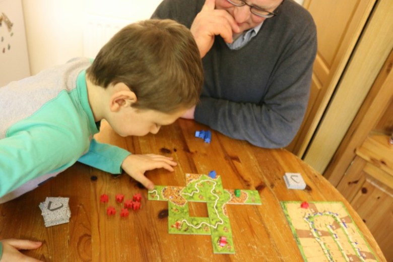 Learning to play Carcassonne