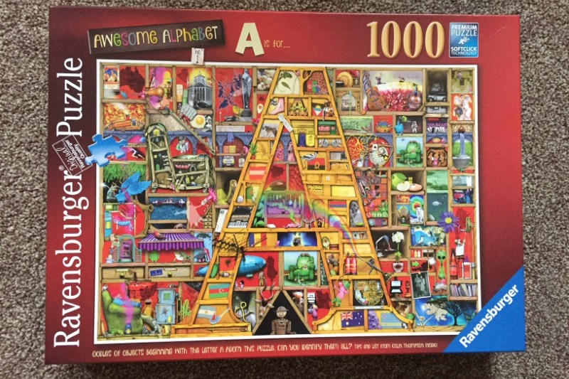 Ravensburger Awesome Alphabet A 1000 Piece Puzzle