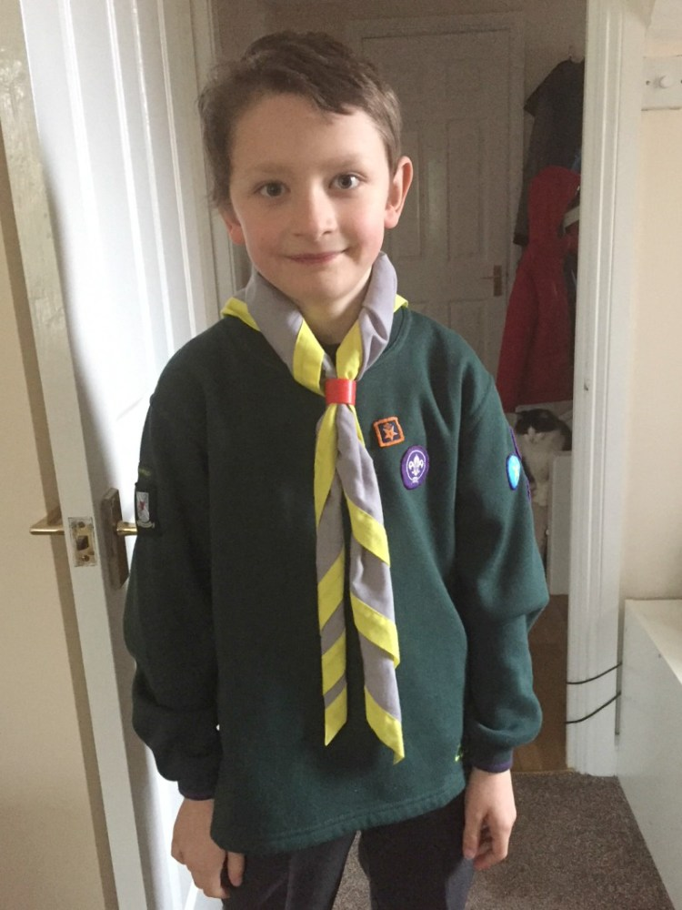 Joining In - Living Arrows Cubs World Thinking Day