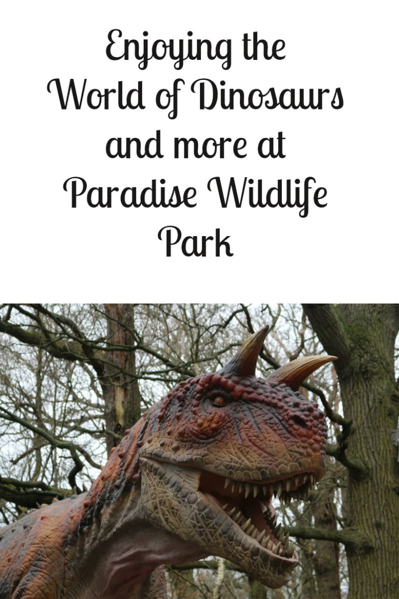 Enjoying the World of Dinosaurs and more at Paradise Wildlife Park